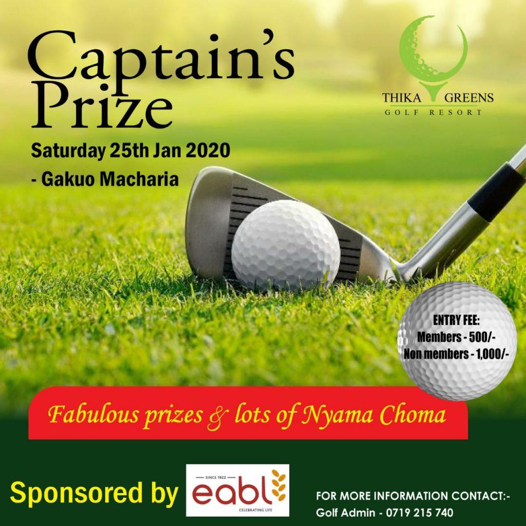 Captain's Prize 2020